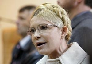 Тимошенко попросила отпустить ее к матери