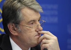 Ющенко: Дело Гонгадзе затягивают по политическим соображениям