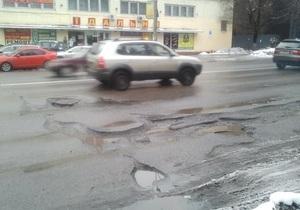 Новости Киева - дороги - Киевавтодор - Власти рассказали о проблемах киевских дорог