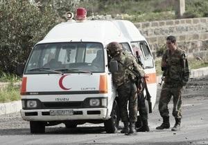 На юге Сирии службы безопасности открыли огонь по манифестантам