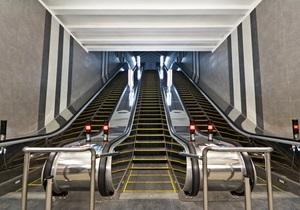 На одной из станций киевского метро введут новшества в работе эскалатора