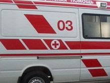 В центре Москвы перевернулась машина скорой помощи