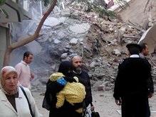 Под завалами рухнувшего в Египте дома могут находиться до 30 человек