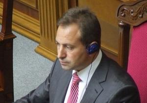 Томенко заявил, что не будет отзывать заявление об отставке с поста вице-спикера