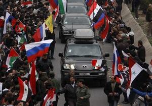 Новый проект резолюции по Сирии: Москва не намерена уступать