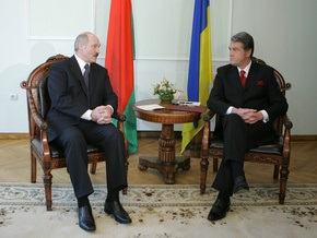 Ющенко уединился с Лукашенко