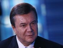Янукович рассказал российскому телеканалу о газовых проблемах Украины