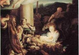 Православные верующие празднуют Рождество