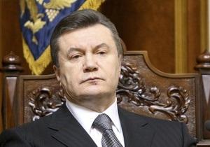 Янукович: Нужно уточнить наши представления о военных угрозах Украине