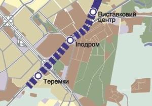 В Киеве на Одесской площади из-за строительства метро просел мост
