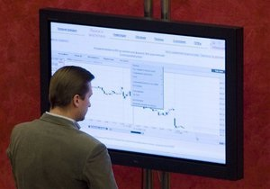 Украинский рынок притормозил падение
