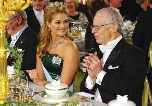 Фотогалерея: Церемония награждения нобелевских лауреатов