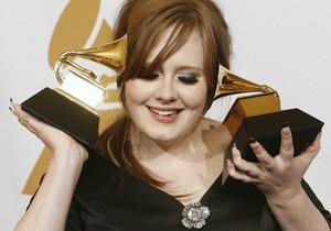 Новый альбом Адель двенадцать недель лидирует в британском хит-параде