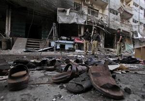 Теракты в Пакистане: число жертв достигло 70 человек