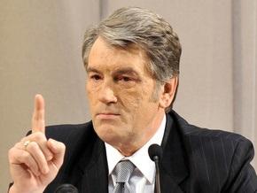 Ющенко впервые встретился с избирателями в качестве кандидата в президенты