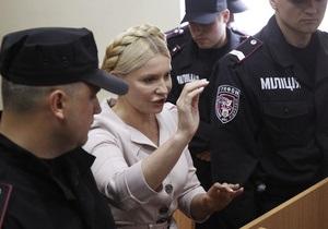 Судья продолжает рассмотрение газового дела без Тимошенко