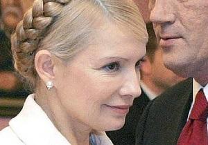 WikiLeaks: Тимошенко в борьбе с Ющенко принесла в жертву экономику Украины