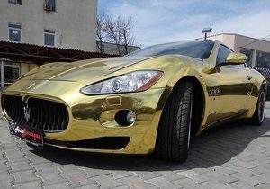 Одесса Maserati - В Одессе продают  золотой  Maserati