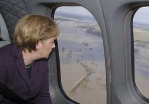 Германия задействовала армию в борьбе с наводнениями
