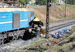 В автобусе, который попал в ДТП в Днепропетровской области, находились три ребенка - ГАИ