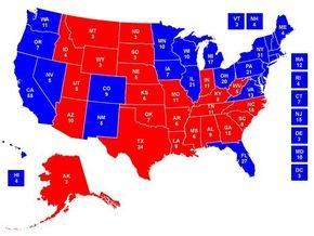 Выборы в США: График закрытия избирательных участков в каждом штате (по Киеву)