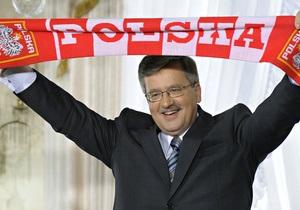 В Польше арестован мужчина, собиравшийся взорвать президента и членов парламента