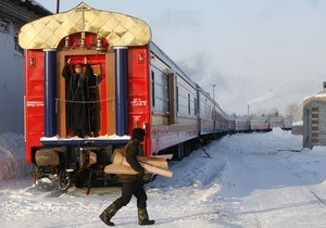 Фотогалерея: Поезд, где лечат душу и тело