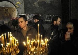 Православные верующие сегодня празднуют Прощеное воскресенье