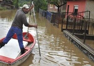 Европа уходит под воду: в Словакии и Хорватии введен режим ЧП, Австрия готовится к удару стихии
