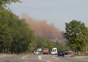 В Мариуполе стоит сильный смог, в городе объявлено предупреждение