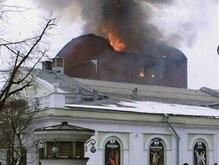 Сгорело  самое гламурное заведение Москвы