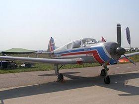 В Подмосковье при посадке перевернулся самолет Як-18