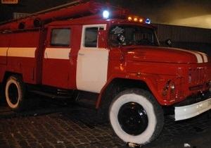 В Киеве горело здание Центра защиты прав потребителей