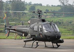 В Бразилии разбился армейский вертолет: есть жертвы
