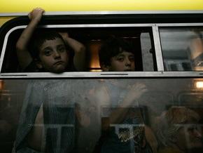 В Грузии автобус сорвался в пропасть: погибли трое детей