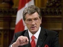 Ющенко принял участие в международной акции Неугасимая свеча