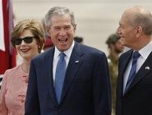 Буш: США и Израиль - союзники в борьбе с террористами и тиранами