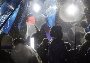 Регионалы подали заявки на проведение бессрочных акций в центре Киева