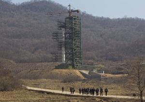На полигоне в КНДР все готово для запуска ракеты
