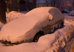 новости Киева - снег - непогода - дороги - За сутки из Киева вывезли больше 33 тысяч тонн снега