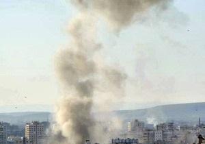 В международном аэропорту Дамаска произошли мощные взрывы