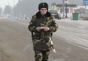 В Сумской области с начала года пограничники конфисковали грузов на 30 млн гривен