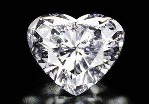 Christie s выставит на торги бриллиант в форме сердца