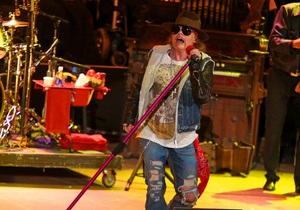 Фронтмен Guns N  Roses Аксель Роуз дал первое за 20 лет телеинтервью