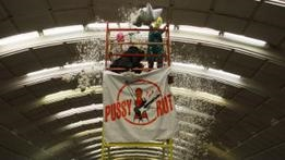 На Красной площади задержали панк-феминисток Pussy Riot