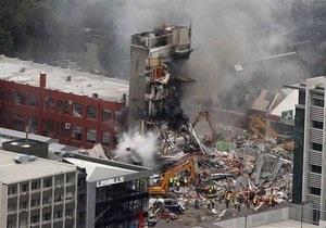 Украинец оказался в эпицентре разрушительного землетрясения в Новой Зеландии