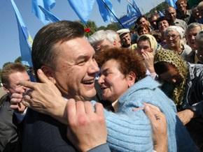 За последние пять лет доходы Януковича выросли в 100 раз
