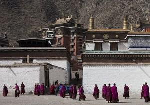 Тибетский монах совершил акт самосожжения в Китае