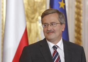 Президент Польши считает, что на выборах в Украине победили проевропейские партии