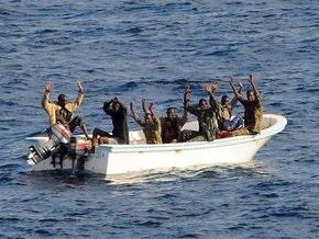 Российский крейсер Петр Великий задержал три пиратских судна